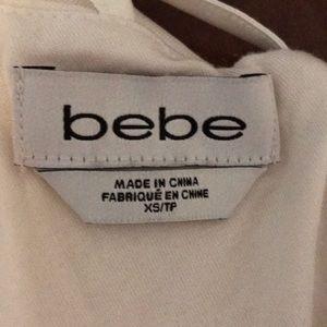 bebe Dresses - Ivory cute Bebe dress , x's
